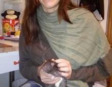 """Municipio VII: la presidente Monica Lozzi e la foto postata con il """"sorcio"""" tra le mani"""