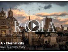 [Video] – Uno sguardo su Roma by Alex Soloviev