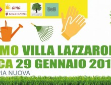 Domenica 29 gennaio: Ripuliamo Villa Lazzaroni