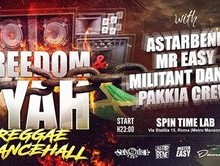 "Via Statilia: ""Freedom e Fyah free entry reggae dancehall"""
