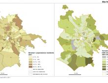 [MappaRoma] A Esquilino un residente su quattro è straniero, a Torrino solo tre ogni cento