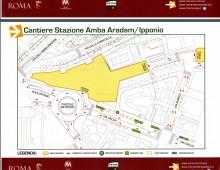 Linea C – Cantiere Stazione Amba Aradam: come cambia la viabilità