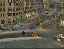 Metro C San Giovanni: hanno rimosso le transenne, finalmente un pò di luce