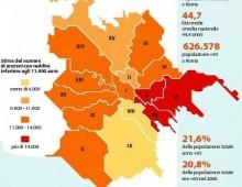 Allarme povertà a Roma, 4 anziani su dieci vivono con meno di undicimila euro all'anno