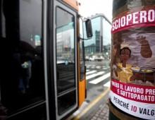 Venerdi 12 gennaio: sciopero dei mezzi pubblici a Roma