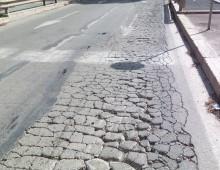 Via Appia Nuova, inizio lavori rifacimento manto stradale