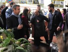 Mercato via Magnagrecia: conferenza stampa della sindaca Raggi