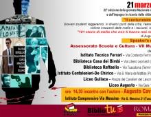 Il Municipio VII e la Giornata della memoria in ricordo delle vittime delle mafie