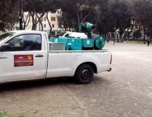 Piazza Re di Roma: l'Ama interviene per la derattizzazione