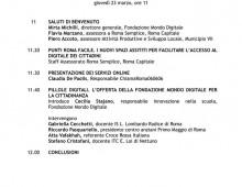 Municipio VII: inaugurazione Punto Roma Facile