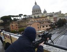 Trattati di Roma: allerta massima e tiratori scelti sui palazzi