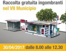 Raccolta gratuita ingombranti nel VII Municipio
