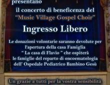 Via Terni: serata di beneficenza al Teatro Sala Raffaello con un concerto di musica Gospel