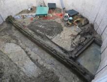 Metro C: ritrovato a piazza Celimontana un acquedotto romano del terzo secolo A.C.