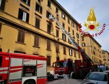 San Giovanni: appartamento avvolto dalle fiamme
