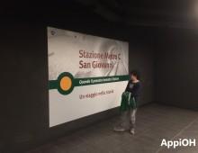Metro C, la passerella artistica e ben altre realtà