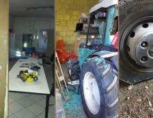 Furti e atti vandalici al VII Servizio Operativo Municipale