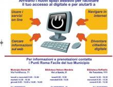 """Municipio VII: Inaugurazione """"Punti Roma Facile"""""""
