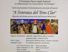 Parco degli Scipioni: concerto di musica medievale