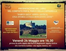 """Presentazione libro """"Parco dell' Appia Antica, una storia lunga 200 anni"""""""