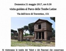 Visita guidata alle Tombe Latine