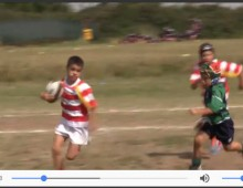 Parco degli Acquedotti: il rugby dei bambini