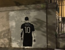 "Totti: murales e vie dedicate al ""Pupone di Porta Metronia"""