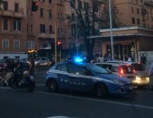 Via La Spezia: incidente stradale