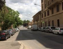 Proteste per i parcheggi di viale Castrense