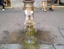 Appio Latino: rubinetti a singhiozzo
