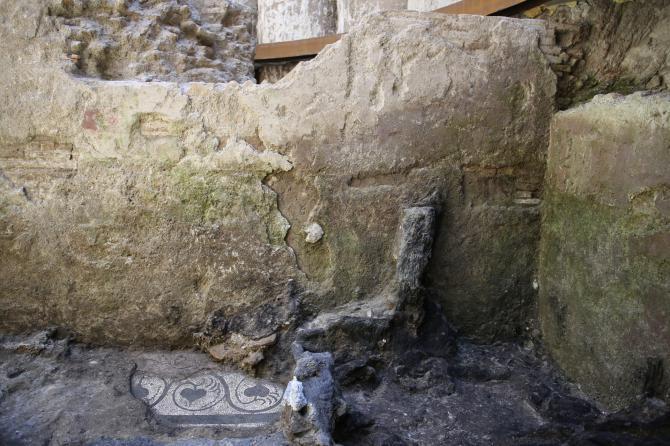 Roma, dagli scavi della metro C spunta