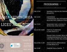 Liceo Augusto: si rinnova la serata astronomica