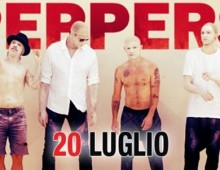 Capannelle: concerto dei Red Hot Chili Peppers giovedì 20 luglio 2017