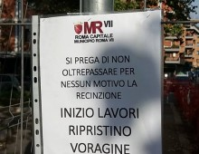 Via Nocera Umbra: iniziano lavori per ripristino voragine