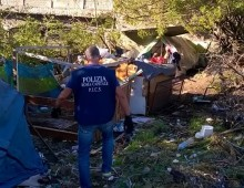 Parco della Caffarella: smantellate sette baracche