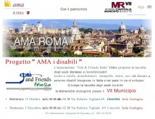 "Municipio VII: Progetto ""AMA i disabili"""