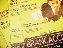 """Teatro Brancaccino: """"L'eternità dolcissima di Renato Cane"""""""