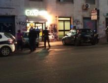 Via Monza, incidente nella notte, coinvolte cinque auto