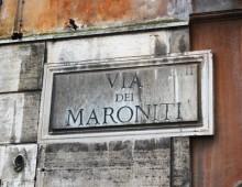 Centro storico: apre biblioteca maronita