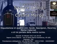Sapore Unico Bistrot: incontro con la casa vinicola Mergè