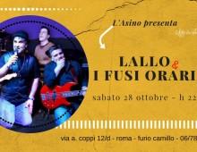 L'Asino Che Vola: Lallo e I Fusi Orari live dance
