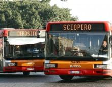 Sciopero bus: adesione all'85%, tram con tragitti limitati