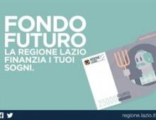 """""""Fondo futuro"""", dal Lazio 21,5 milioni di euro"""