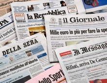 """Diffusione quotidiani, continua il crollo. Male """"Il Messaggero"""""""