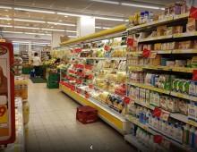 Via S. Maria Ausiliatrice: rapina al supermercato Dem