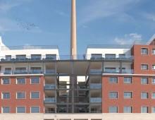 Via Gela: il nuovo complesso abitativo, Opificio Appio