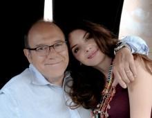 Carlo Verdone e Ilenia Pastorelli al Trianon per la presentazione del nuovo film