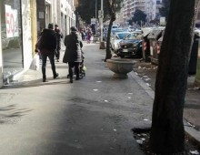 Via Tuscolana riconsegnata ai cittadini; spostate le bancarelle degli ambulanti