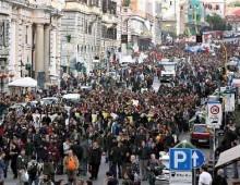 """Sabato 4 cortei a Roma, il """"No Vax"""" si svolgerà a San Giovanni"""