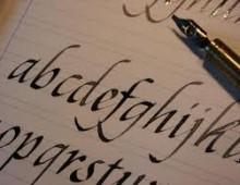 Libreria Gela: corso di calligrafia